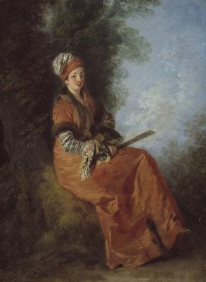 Antoine Watteau. Dreamer