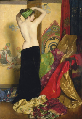 John Collier. Magnificence and vanity. 1917