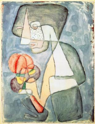 Пауль Клее. Женщина с помидором