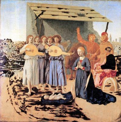 Piero della Francesca. Christmas