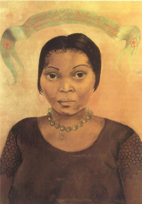 Frida Kahlo. Portrait Of Eva Frederick
