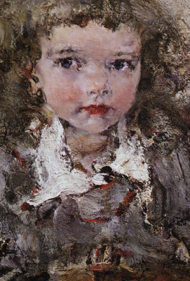 Nikolay Feshin. Portrait of the daughter of AI