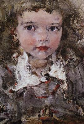 Николай Иванович Фешин. Портрет дочери Ии
