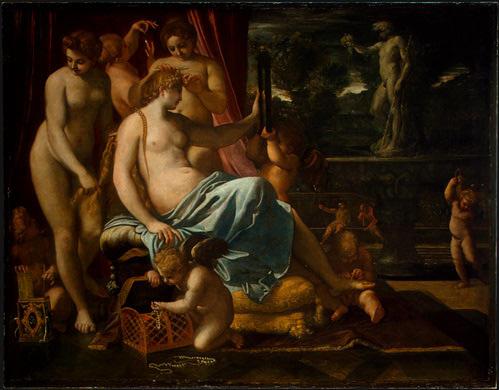Annibale Carracci. Venus adorn grace
