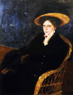 Alexander Murashko. Portrait Of Vera Antonovna Ditalini