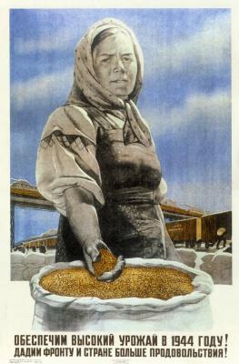 Виктор Борисович Корецкий. Обеспечим высокий урожай в 1944 году!