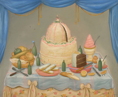 Fernando Botero. Birthday