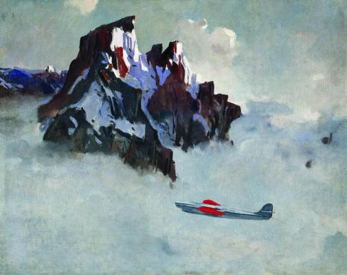 Alexander Alexandrovich Deineka. In the air