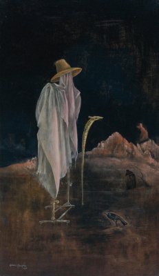 Leonora Carrington. Self-portrait with orthopedic brace