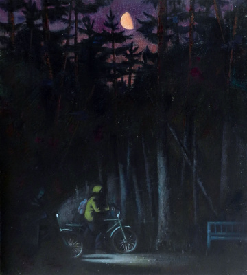 Vladimir Vladislavovich Vidyaykin. Night walk