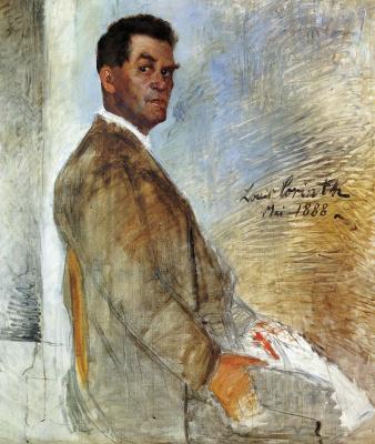 Lovis Corinto. Portrait Of Franz Heinrich