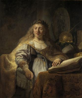 Рембрандт Харменс ван Рейн. Минерва