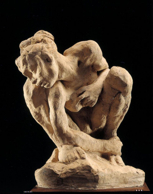 Auguste Rodin. Woman squatting