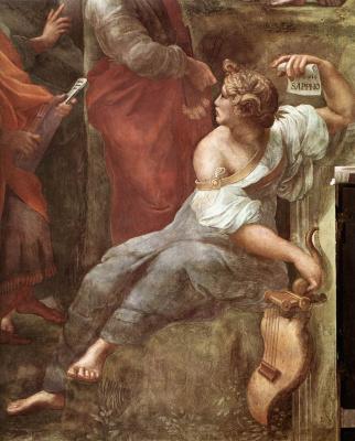 Raphael Santi. The Parnassus