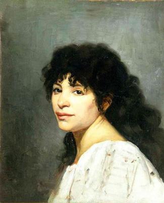Мария Константиновна Башкирцева. Восточная девушка