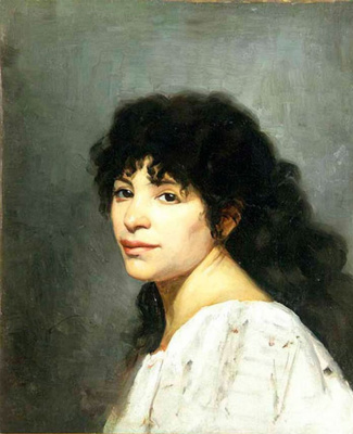 Мария Константиновна Башкирцева. Oriental girl
