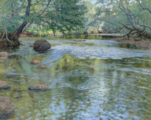 Nikolay Petrovich Bogdanov-Belsky. River