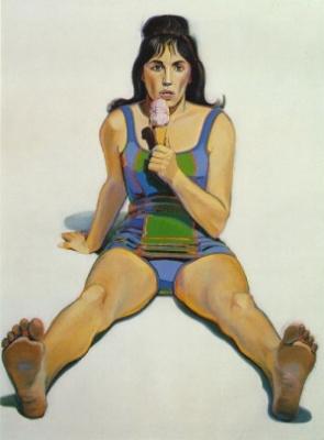 Уэйн Тибо. Девушка с мороженным