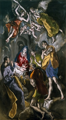 Доменико Теотокопули (Эль Греко). Поклонение пастухов