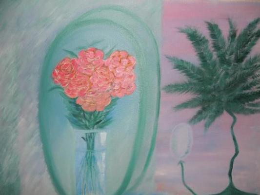 Asya Alibala gizi Hajizadeh. Flowers!