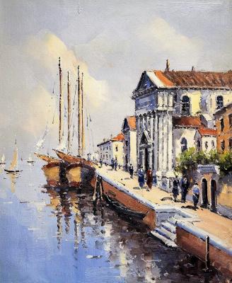 Andrew Shararin. Сны о Венеции N12