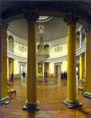 Ефим Тухаринов. Виды залов Зимнего дворца