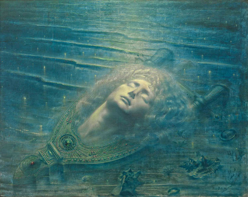 Jean Delville. Death of Orpheus