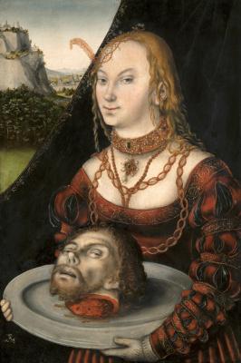 Lucas Cranach the Elder. Salome