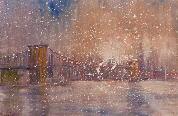 Roman Rakhmatulin. The Brooklyn Bridge
