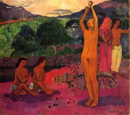 Paul Gauguin. Spell