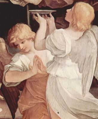 Guido Reni. The circumcision of Christ, detail