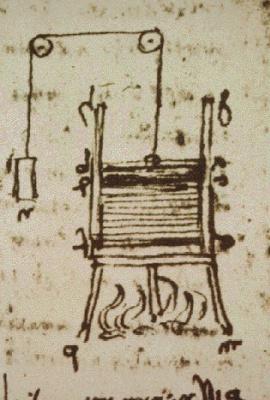 """Leonardo da Vinci. Page from """"the Leicester Codex"""""""