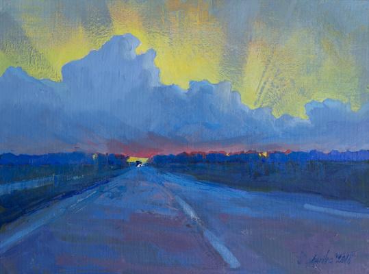 Tanika Yezhova. Road