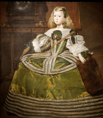 Juan Batista Martinez del Maso. Infanta Margarita Teresa Spanish