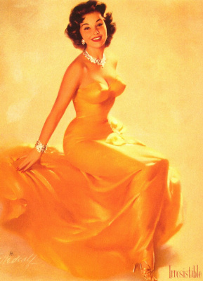 Билл Медкалф. Девушка в желтом платье