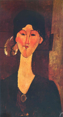 Amedeo Modigliani. Portrait Of Beatrice Hastings