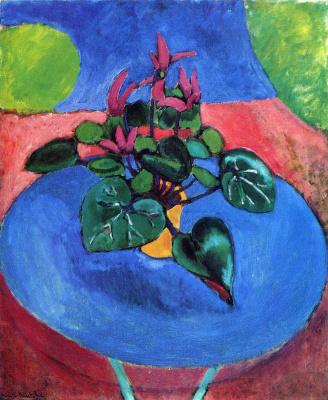 Henri Matisse. Cyclamen