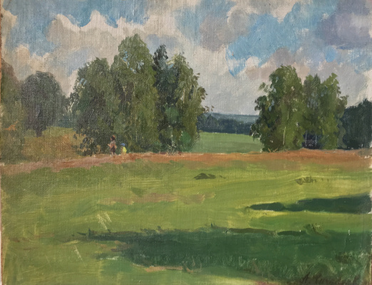 Aleksandr Chagadaev. Walk in the field