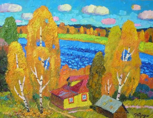 Igor Zagrievich Berdyshev. Autumn in Smedovo
