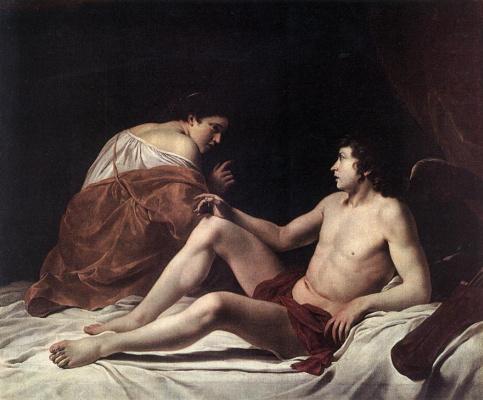 Orazio Gentileski. Cupid and Psyche