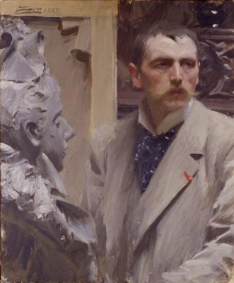 Anders Zorn. Self-portrait