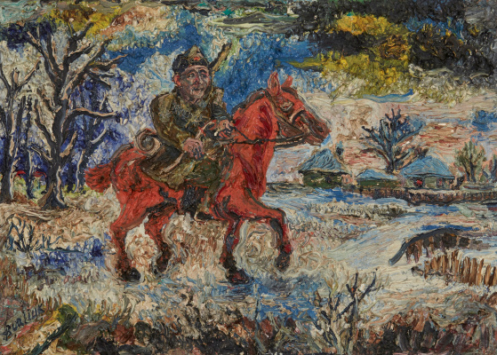 David Davidovich Burliuk. Soldiers Of The Red Army