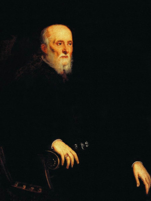Jacopo (Robusti) Tintoretto. Portrait of Alvise Cornaro