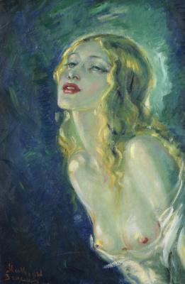 Молодая красавица. 1946