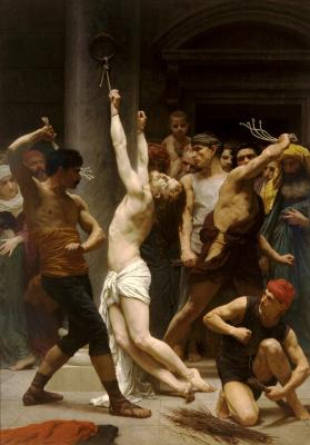 William-Adolphe Bouguereau. Flagellation Of Christ