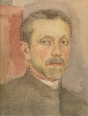 Евгений Иосифович Буковецкий. Self-portrait