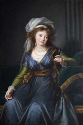 Elizabeth Vigee Le Brun. Portrait of Countess skavronskaia