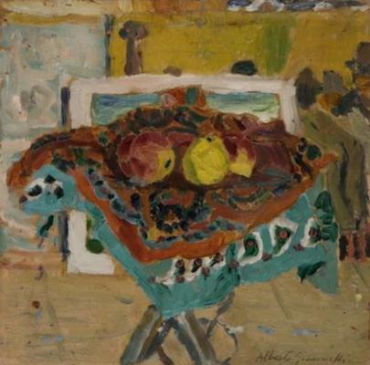 Альберто Джакометти. Натюрморт с яблоками