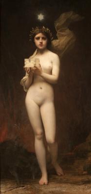 Жюль Жозеф Лефевр. Пандора.  1872