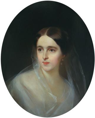 Портрет Натальи Николаевны Пушкиной-Ланской. 1849